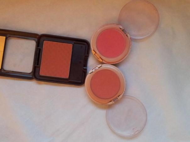 Matte drugstore blushes